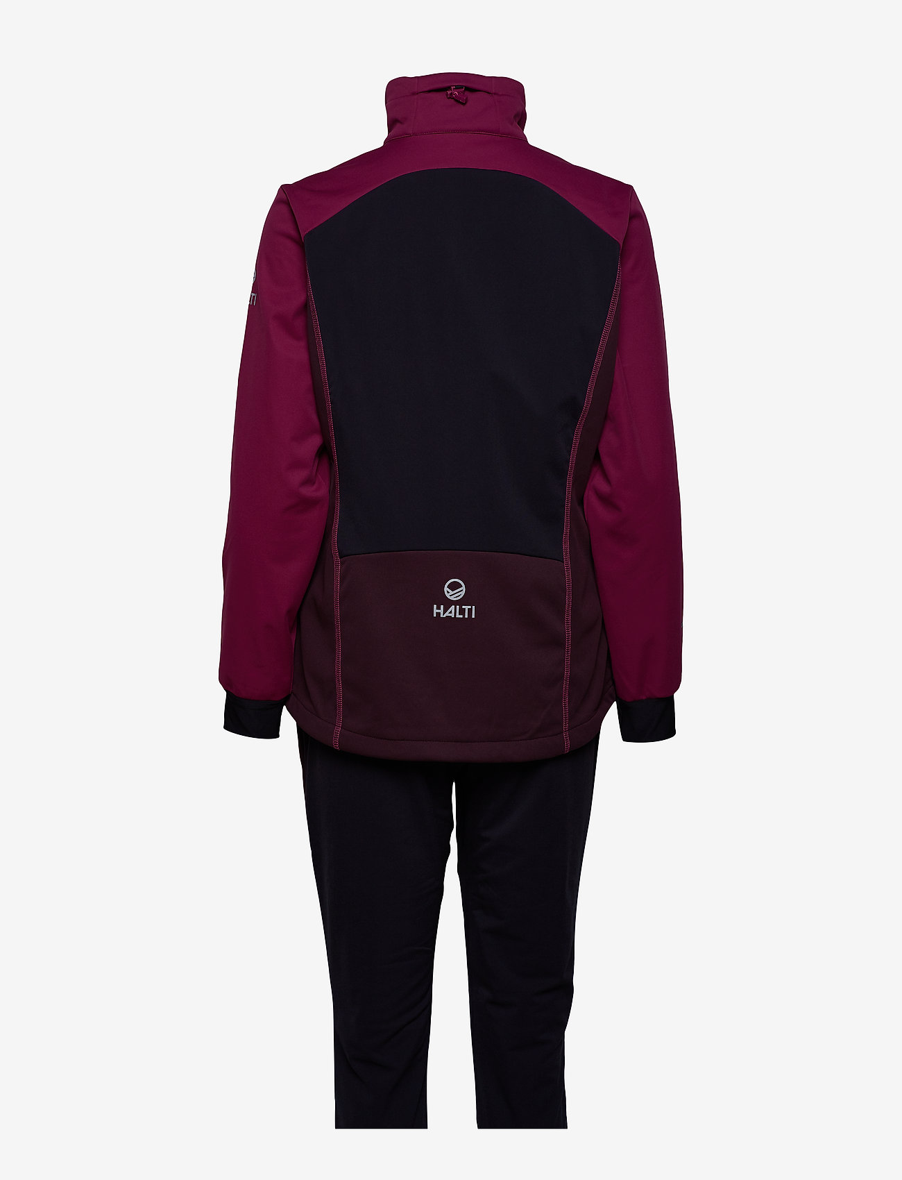 Halti - Murto W+ XCT softshell set - softshell-jackor - magenta purple - 1