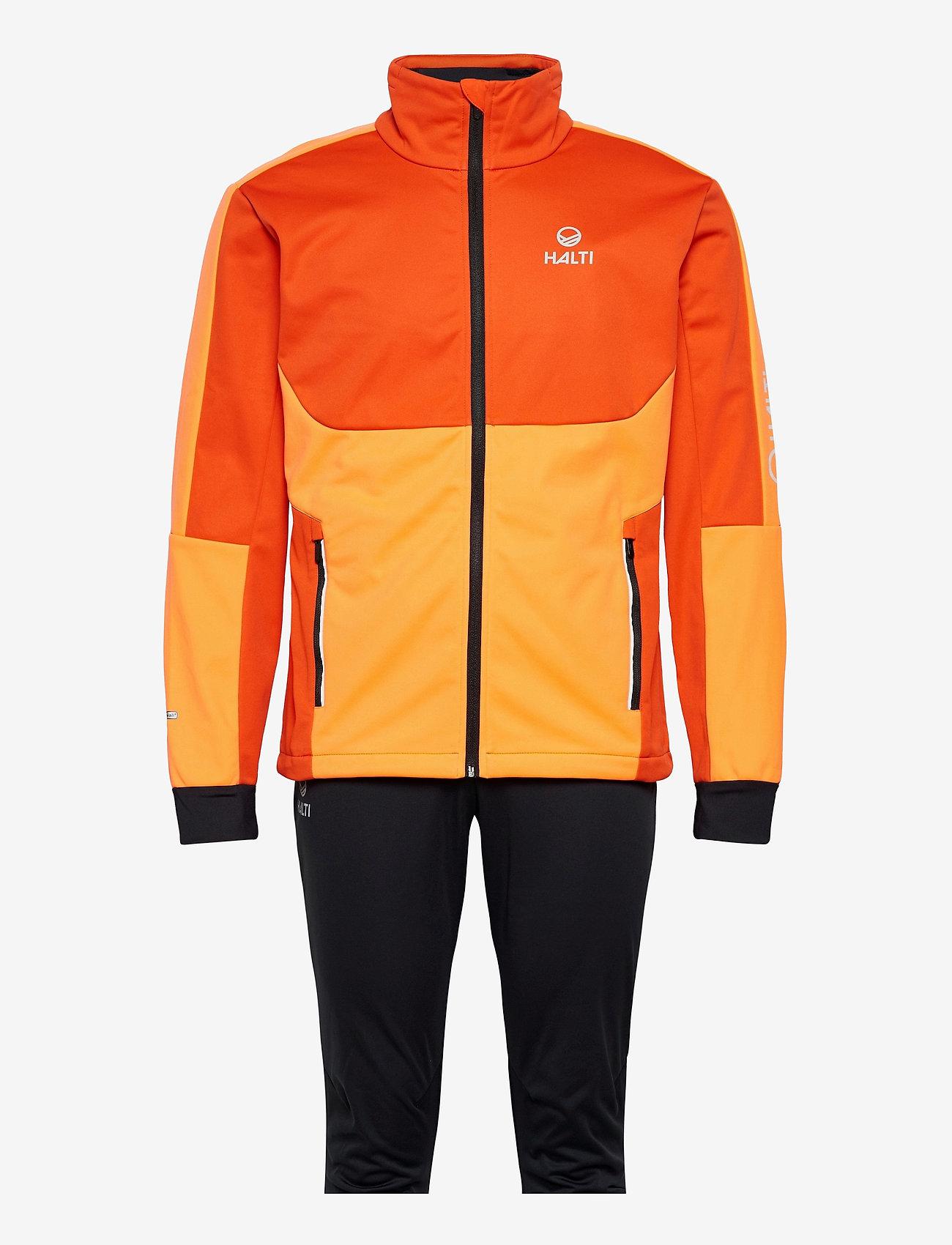 Halti - Petro M XCT Set - sportsjakker - orange com - 0