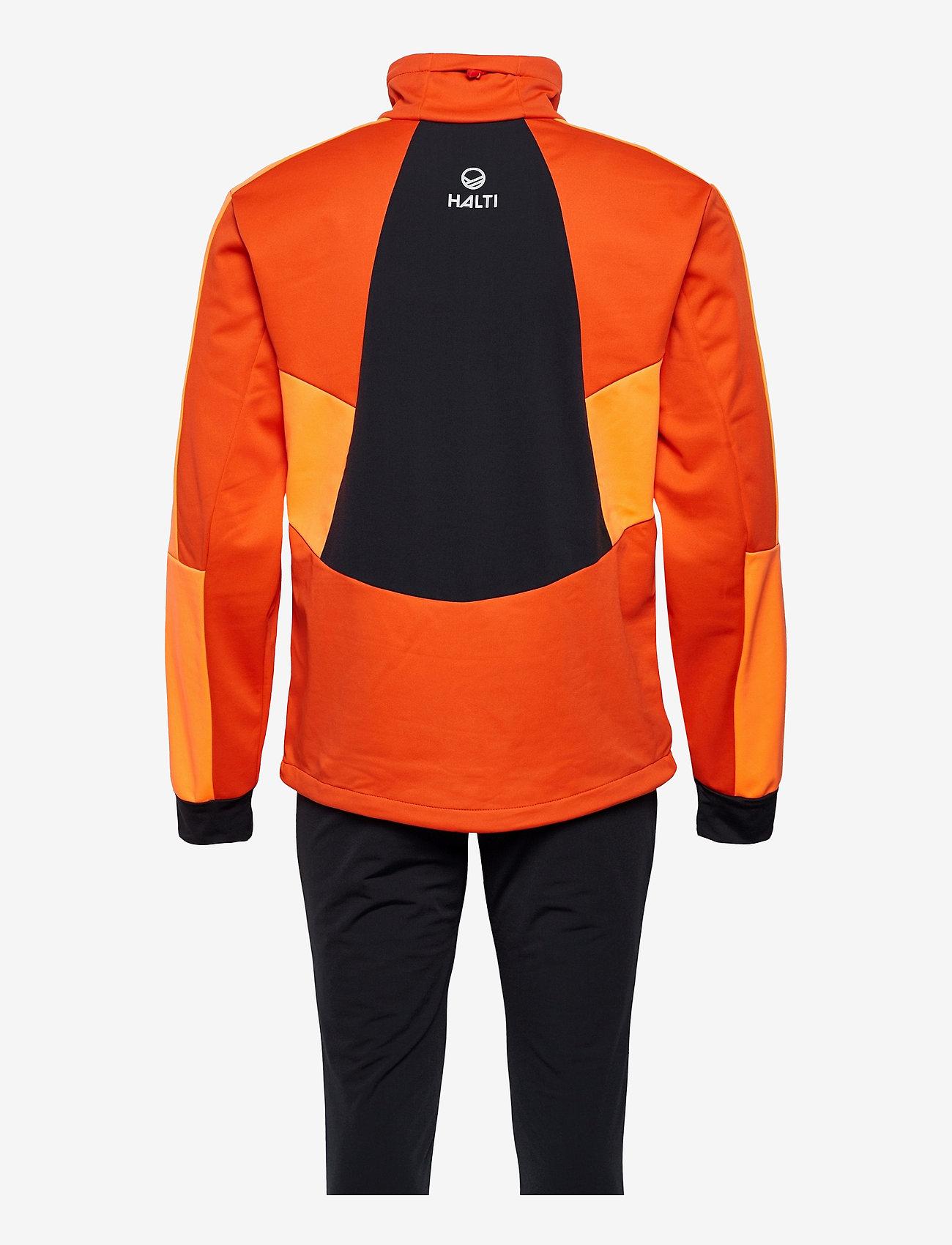 Halti - Petro M XCT Set - sportsjakker - orange com - 1