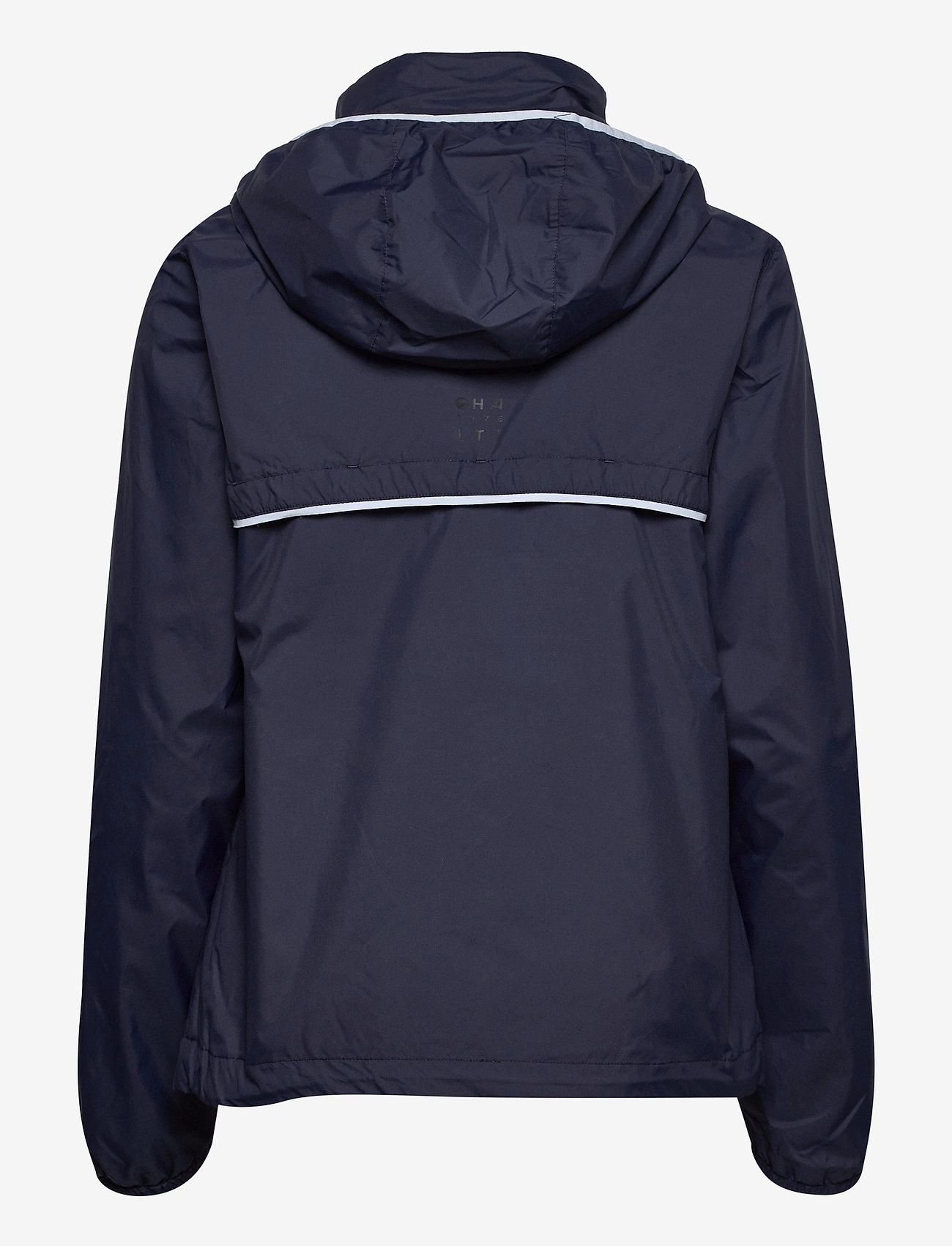 Halti - Reitti W windbraker jacket - koulutustakit - black iris blue - 1