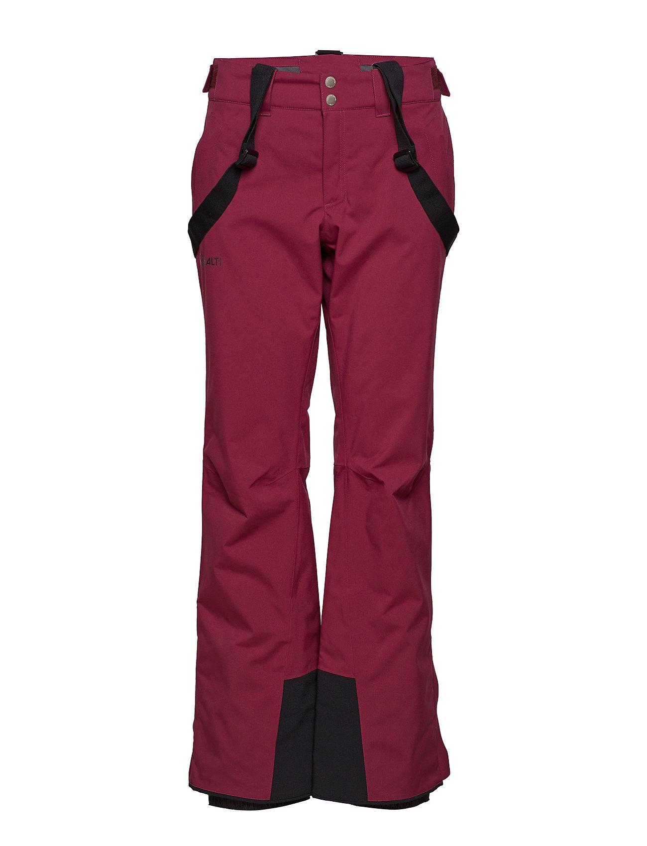 Halti Puntti II W DX ski pants - PLUM PURPLE