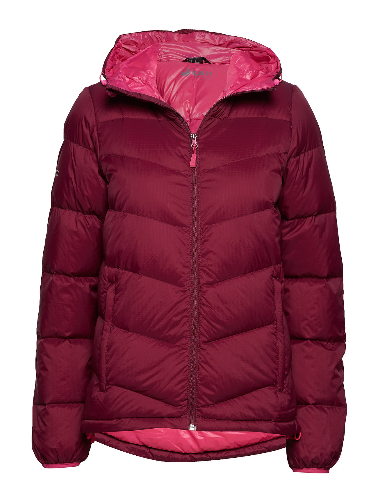 Halti Halle W down jacket - PLUM PURPLE