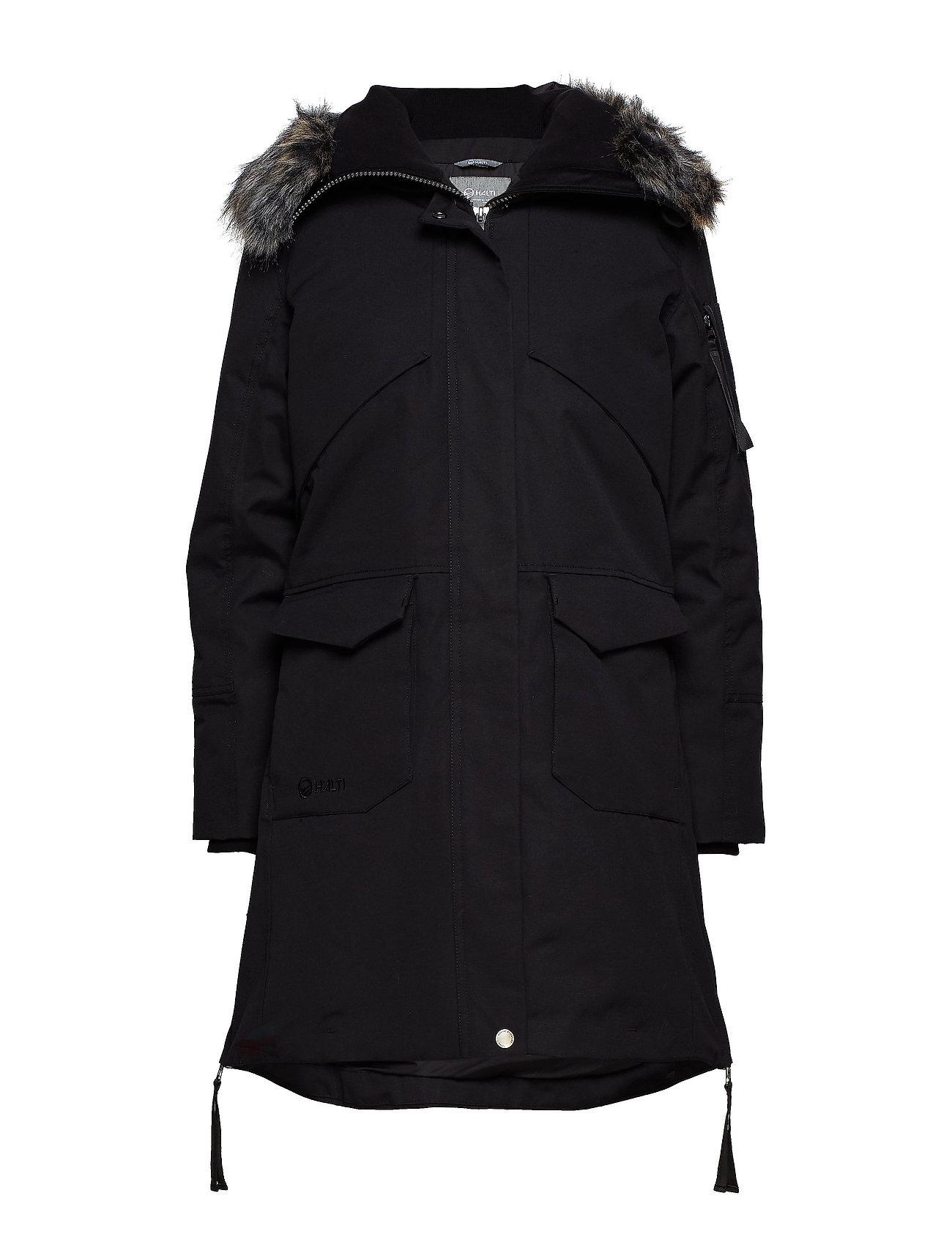 Halti Osaka W parka jacket - BLACK