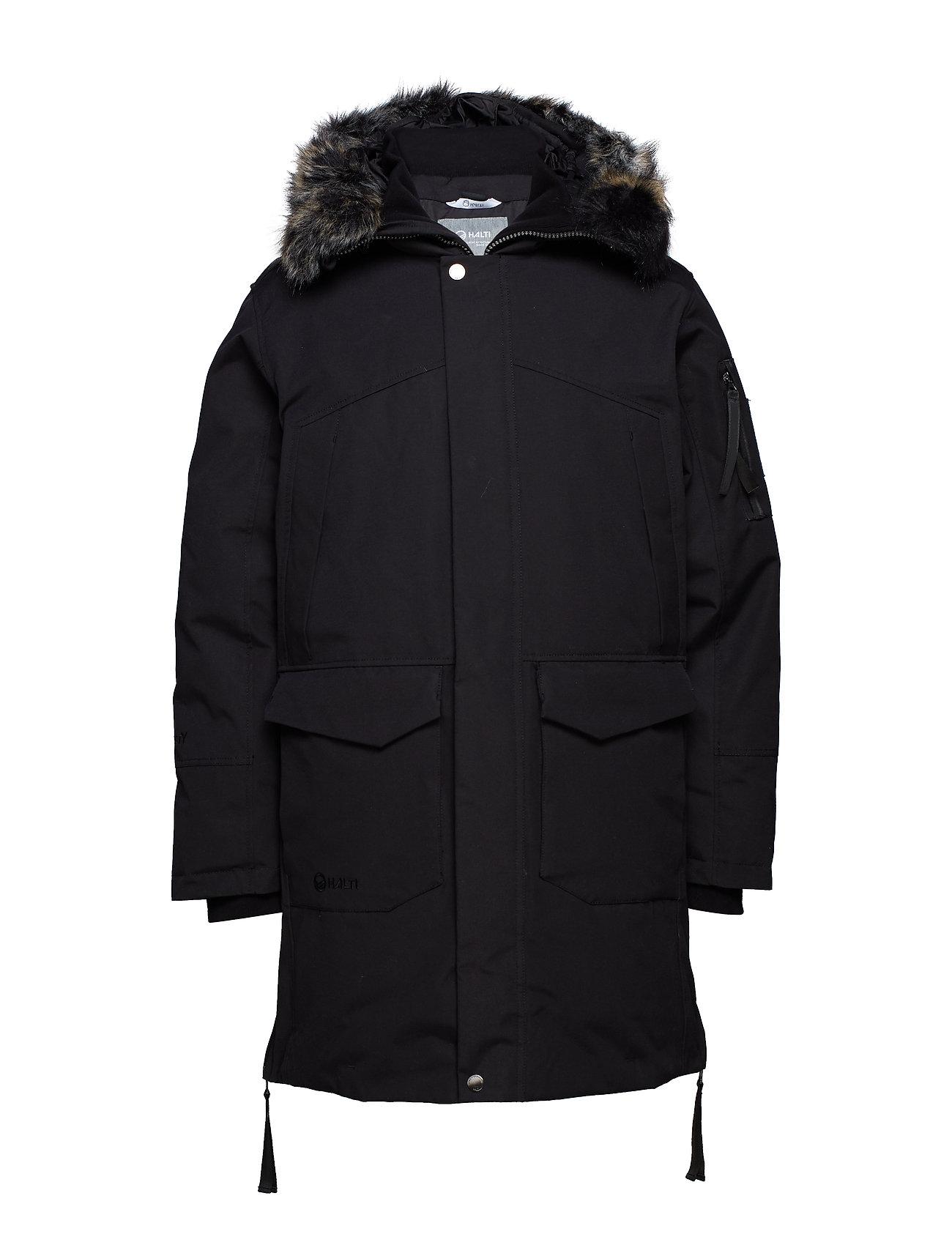 Halti Osaka M parka jacket - BLACK
