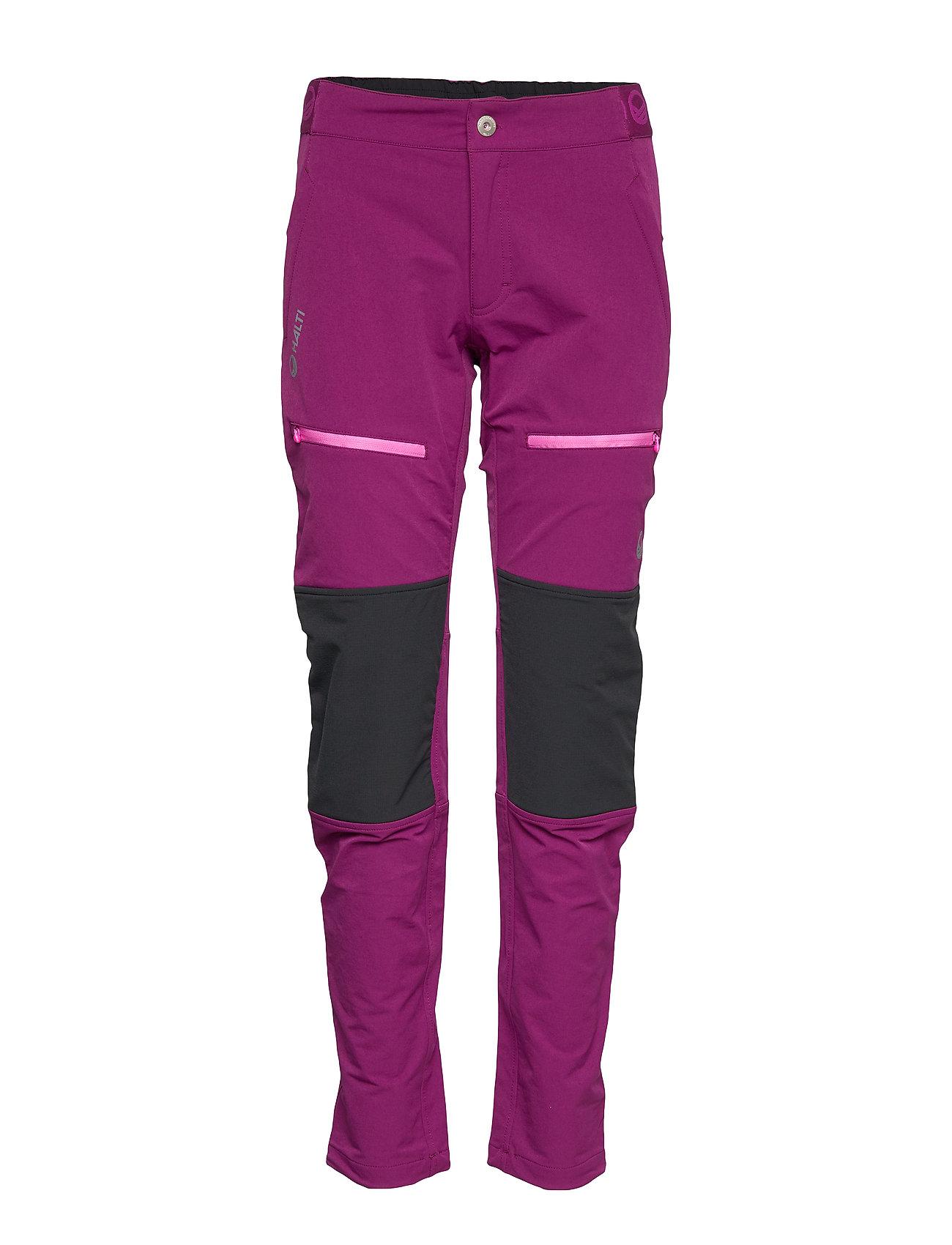 Halti Pallas Women's Warm X-Stretch Pants - MAGENTA PURPLE