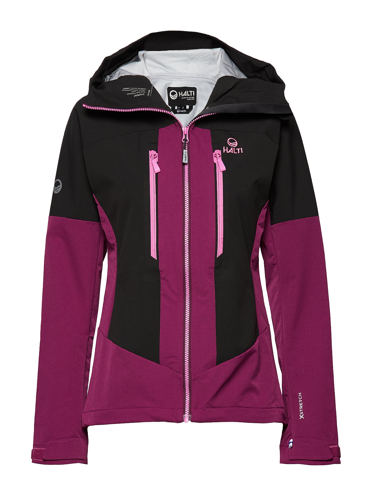 Halti Pallas warm hybrid W Jacket - MAGENTA PURPLE