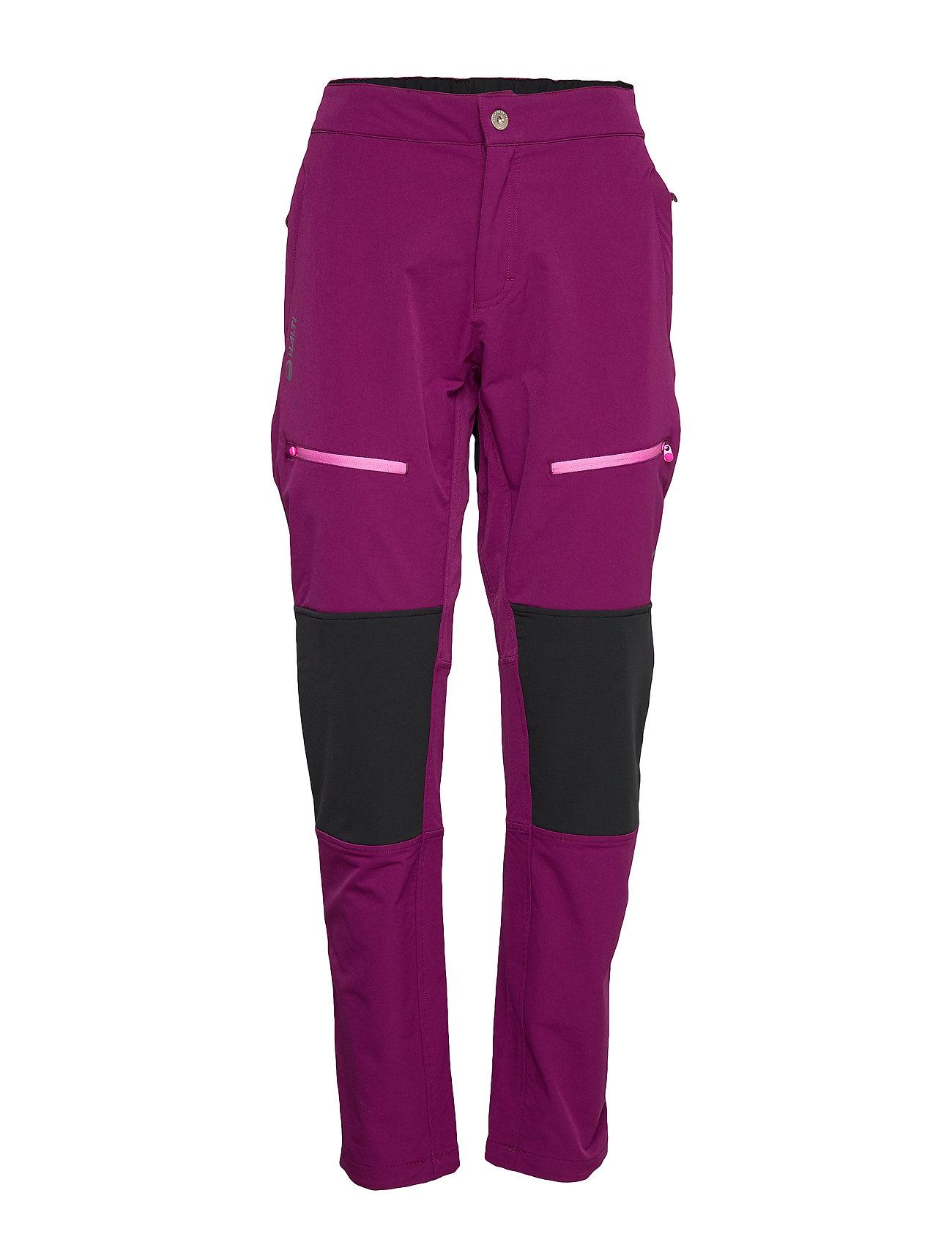 Halti Pallas W+ warm X-stretch pants - MAGENTA PURPLE
