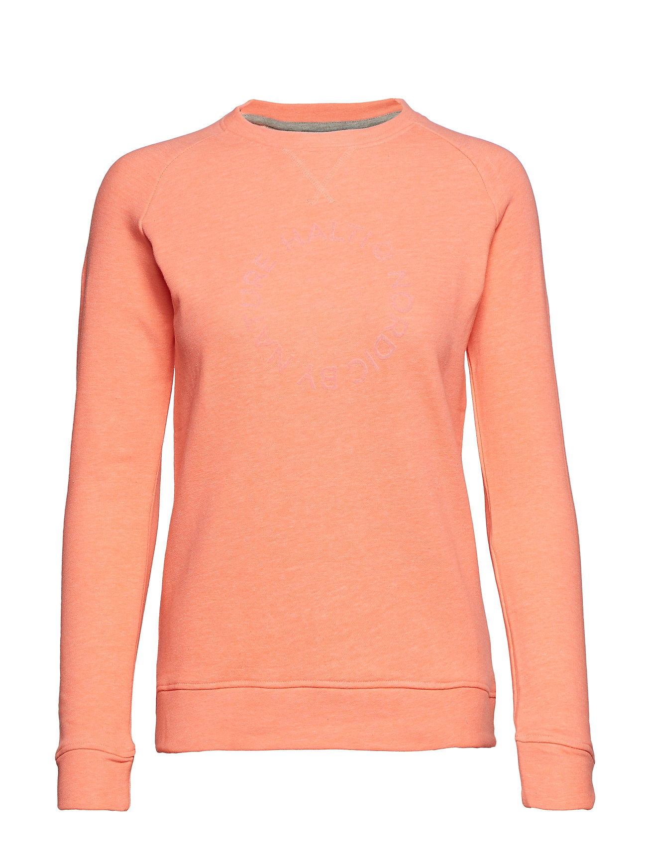Halti Natta W Shirt - LIGHT CORAL MELANGE