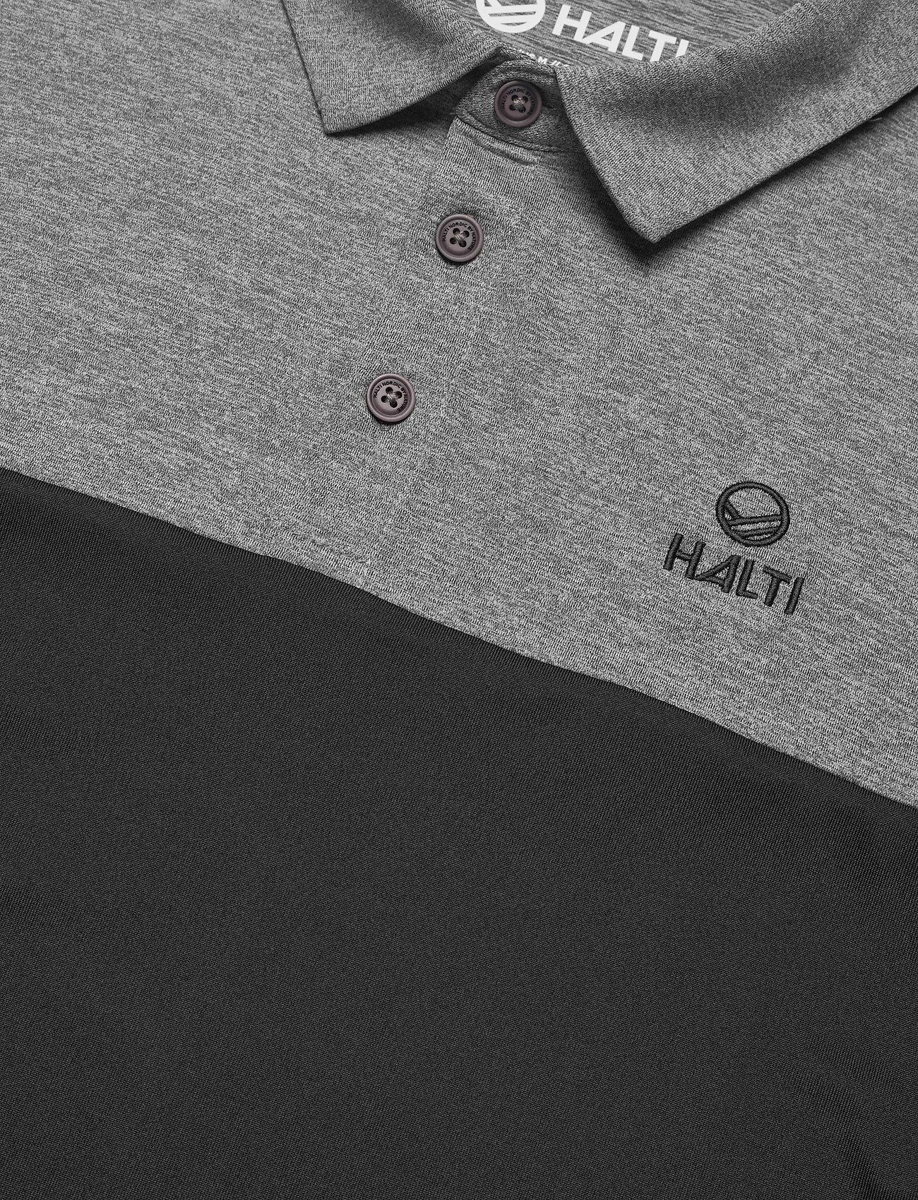 Halti Filip Men's Pique T-shirt - Pikéer Black