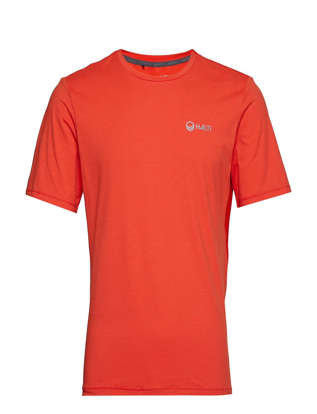 Halti Juha M T-shirt - ORANGE COM MELANGE