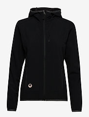 Halti - Kielo Women's softshell jacket - softshell-jackor - black - 0