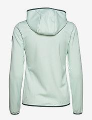 Halti - Sointu W softshell jacket - softshell-jackor - bleached aqua mint - 2