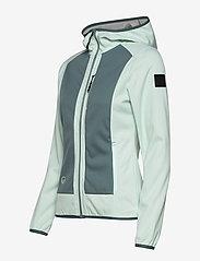 Halti - Sointu W softshell jacket - softshell-jackor - bleached aqua mint - 3
