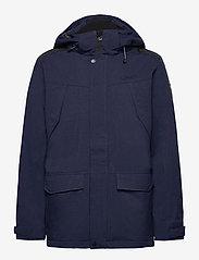 Halti - Luosto Men's Warm parka jacket - parkas - peacoat blue - 1