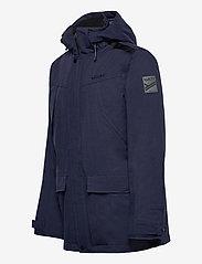 Halti - Luosto Men's Warm parka jacket - parkas - peacoat blue - 2
