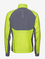 Halti - Keimi Men's Hybrid Jacket - insulated jackets - lime punch - 5
