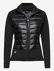 Halti - Olos Women's Hybrid Cross Country Ski Jacket - vestes d'entraînement - black - 0