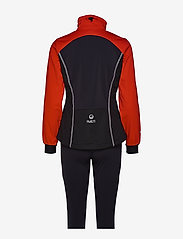 Halti - Murto W XCT softshell set - softshell-jackor - lava red - 1