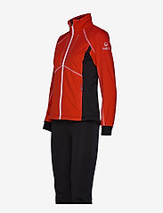 Halti - Murto W XCT softshell set - softshell-jackor - lava red - 5