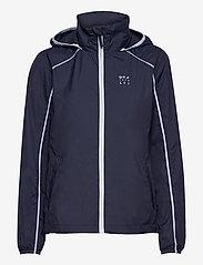 Halti - Reitti W windbraker jacket - koulutustakit - black iris blue - 0