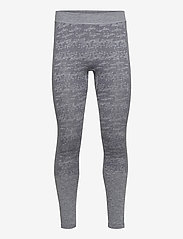 Halti - Free Recy Men's Seamless Base Layer Pants - base layer bottoms - folkstone grey melange - 0