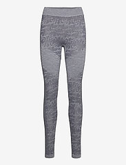 Halti - Free Recy Women's Seamless Base Layer Pants - underställsbyxor - folkstone grey melange - 0