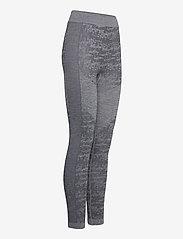 Halti - Free Recy Women's Seamless Base Layer Pants - underställsbyxor - folkstone grey melange - 2