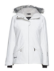 Elega W DX ski jacket - WHITE