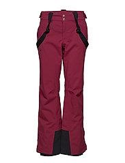 Puntti II W DX ski pants - PLUM PURPLE