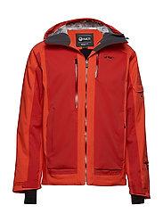 Podium M DX ski jacket - ORANGE COM