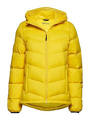 Halle W down jacket - FREESIA YELLOW