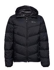 Whiff M down jacket - BLACK
