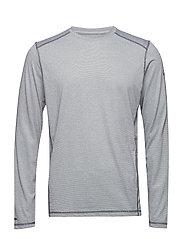Vamos M middlayer shirt - QUIET SHADE GREY MELANGE