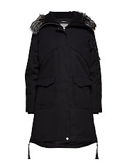 Osaka W parka jacket - BLACK