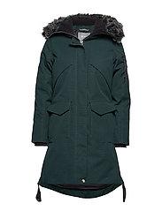 206799ee869 Osaka W parka jacket - SCARAB GREEN