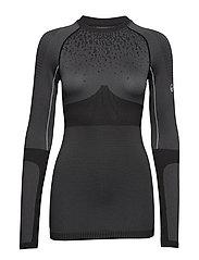 Nila W seamless base layer shirt - GRANITE GREY