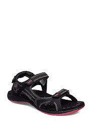 Isla W sandal - BLACK