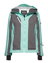 Podium Women's DX Ski Jacket - MINT BLUE