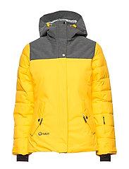 Kilta Women's DX Ski Jacket - FREESIA YELLOW