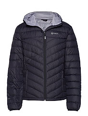 Huippu Men's Down Jacket - BLACK