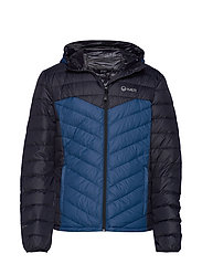 Huippu Men's Down Jacket - BLUE OPAL