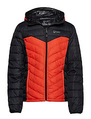 Huippu Men's Down Jacket - ORANGE COM