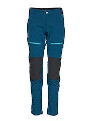 Pallas Women's Warm X-Stretch Pants - BLUE OPAL