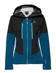 Pallas warm hybrid W Jacket - BLUE OPAL