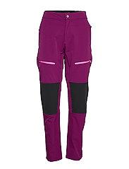Pallas W+ warm X-stretch pants - MAGENTA PURPLE