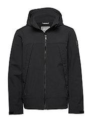 Veini Men's softshell jacket - BLACK