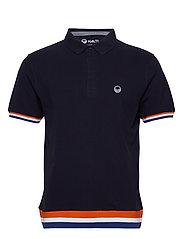Vesku Men's Pique Polo shirt - PEACOAT BLUE