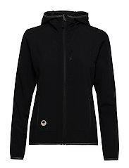 Kielo Women's softshell jacket - BLACK