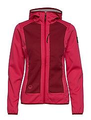 Sointu W softshell jacket - AZALEA PINK