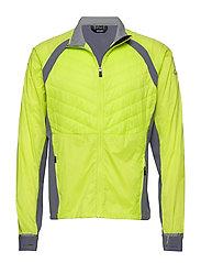 Keimi Men's Hybrid Jacket - LIME PUNCH